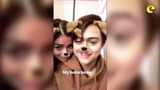 Liza Soberano Surprises Enrique Gil With Kiss
