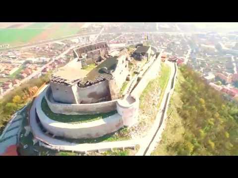 Серьёзная крепость в Дева.Румыния.Romani