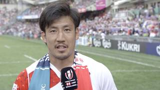 Japan captain reaction to Japan's triumph