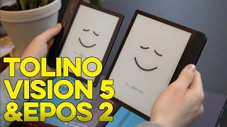 Tolino Vision 5 & Epos 2 - Unboxing und erster Eindruck | Techpool Podcast