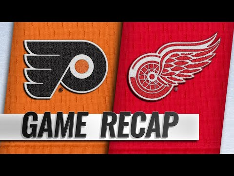 Flyers complete home-and-home sweep vs. Wings, 3-1