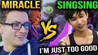 Miracle MindControl vs SingSing Gorgc - Antimage Can't Help Dota 2