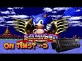 Sonic CD... on a keyboard.