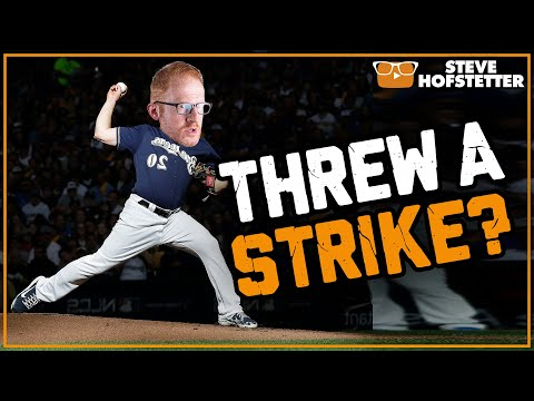Comedian Pitches For the Brewers - Steve Hofstetter