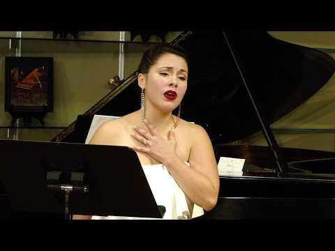 Agostina Migoni, Soprano: Four Folk Songs for Soprano, Viola and Piano by Alan Smith