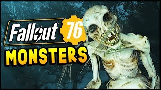 Fallout 76 MONSTERS! - SCORCHED BEAST, DEATHCLAW, MEGA SLOTH, & WENDIGO ATTACK! - Part 7