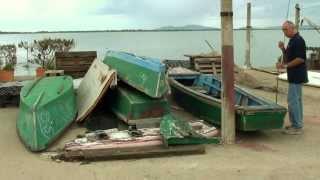 preview picture of video 'Il barchino di Orbetello'