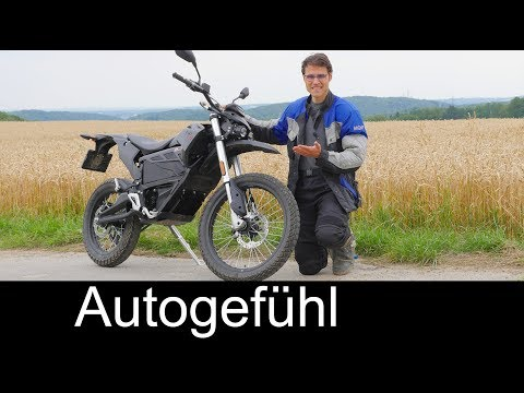 Zero FX electric motorcycle FULL REVIEW e-bike Enduro test – Autogefühl