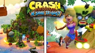TAWNA y CORTEX, MAPA & NUEVO GAMEPLAY! (Crash Bandicoot N.Sane Trilogy Noticias)