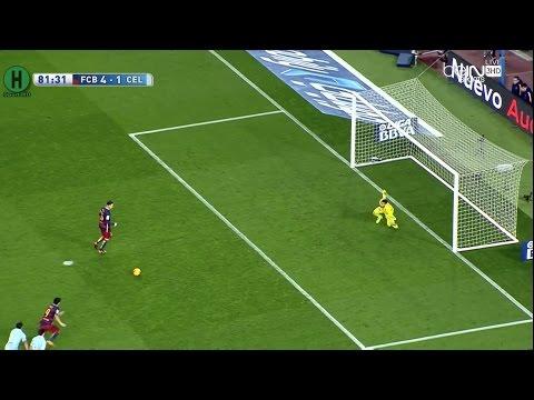 Summary Barcelona vs Celta Vigo 6-1 La Liga 14-2-2016 HD1080P