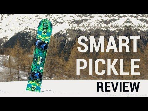 Gnu Smart Pickle Snowboard On Snow Review 2015/2016 | EpicTV Gear Geek