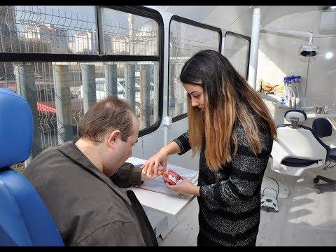 NEÜ Gezici Ağız ve Diş Kliniği SOBE'de