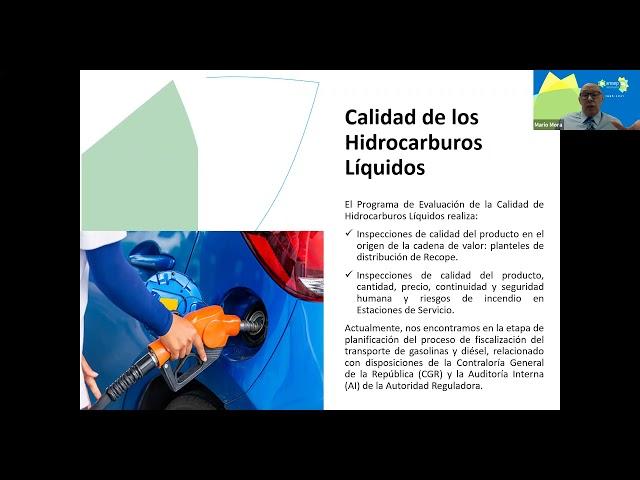 Conferencia: análisis de las acciones regulatorias en los servicios de ene ..