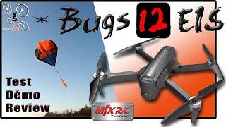 MJX Bugs 12 EIS Drone 4K pliable - Review Test Démo - 2ème GAGNANT du Concours permanent !