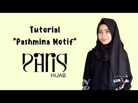 Video Tutorial pashmina tassel by PARISKU