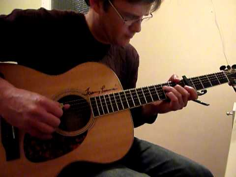 """""""Time in a Bottle"""": Jim Croce (fingerstyle guitar cover)"""
