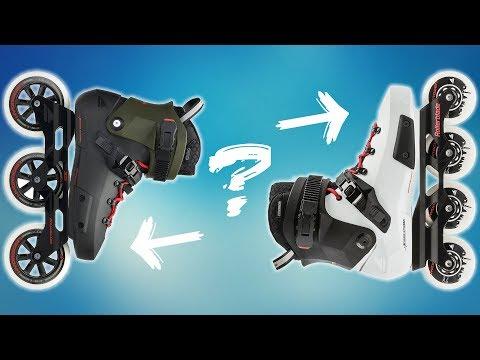 3 oder 4 Wheels? Rollerblade Twister Edge Inline Skates im Test (2019 |🇨🇭)