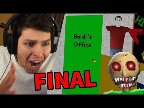 DESCUBRO LA OFICINA DE BALDI !! NUEVO FINAL SECRETO 😱😱 - Baldi's Basic In Education