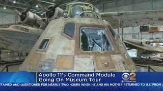 Apollo 11 Command Module Heading Out On Tour
