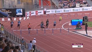 Meeting de Marseille 2018 : Ludvy Vaillant en 48''96 sur 400 m haies