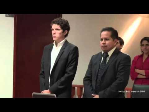 Ejemplificación de audiencias/ Sistema penal acusatorio/ Juicio oral