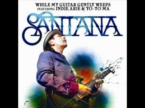 Santana While My Guitar Gently Weeps Chords