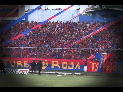 """""""EL COLOR DEL CLÁSICO FAS  - ÁGUILA"""" Barra: Turba Roja • Club: Deportivo FAS"""