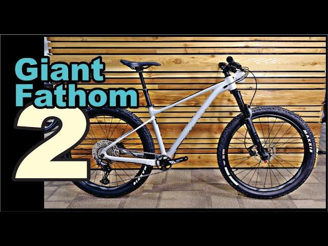 Видео Велосипед Giant Fathom 29 2 Black/Blue Ashes