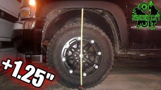 Lifted My Truck For FREE | How To Crank Up Torsion Bars Silverado Sierra