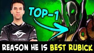 Reason he is BEST RUBICK — Secret.Yapzor TOP-1 in Dota