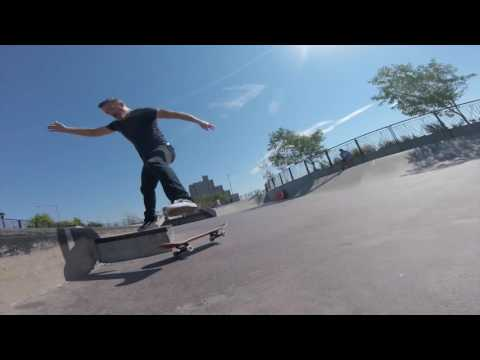 41 Year Old Skate Every Day - 133 - Far Rockaway Skatepark, Cruising, and Carving
