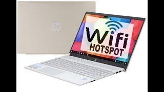 Phát wifi từ chiếc laptop win10 - make laptop as wifi access point