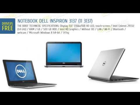 DriversFree: Dell Inspiron 3137 (11 3137) specs & video review