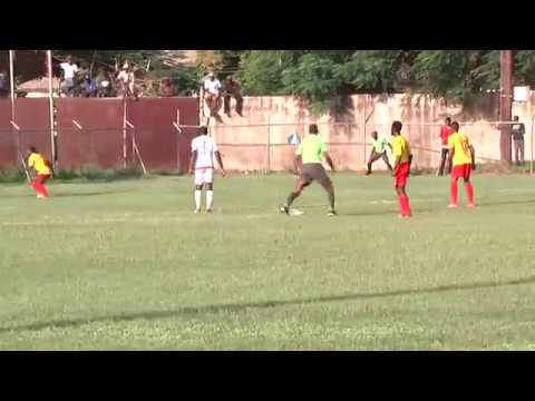 Portmore United versus Humble Lion match