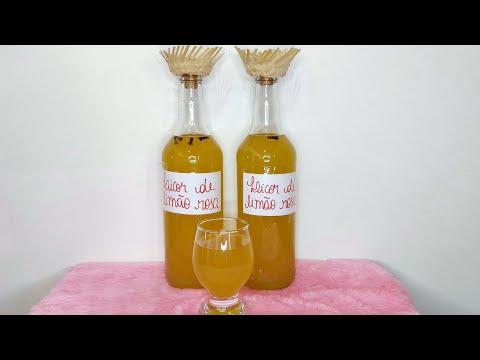 Licor de Limão Rosa