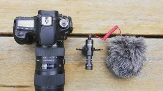 The Best Compact On-Camera Microphone! RØDE VideoMicro Review