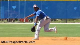 Vladimir Guerrero Jr. - Toronto Blue Jays prospect (3B) - full RAW video - Video Youtube