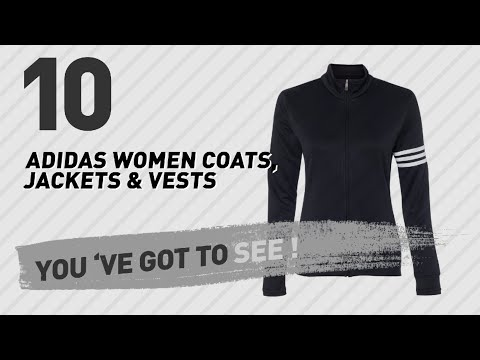 Adidas Women Coats, Jackets & Vests, Top 10 Collection // New & Popular 2017