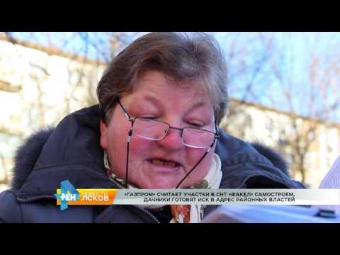 Новости Псков 16.02.2017 # Газпром против дачников. Продолжение