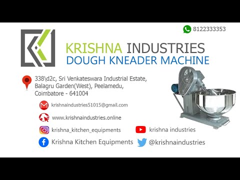 Commercial Dough Kneader 20kg