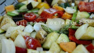 How To Grill Vegetables On A Charcoal Grill