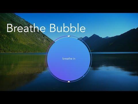 Calm Breathe Bubble
