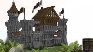 New Minecraft Medieval Castle Future Tutorial Minecraftvideos Tv