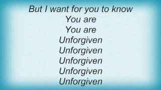 Fefe Dobson - Unforgiven Lyrics