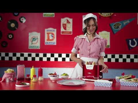 Ariete Retro hotdog maker
