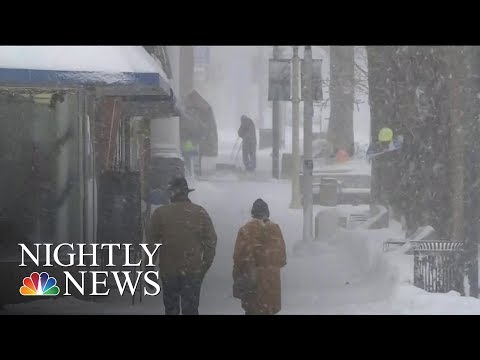 Major Storms Snarl Travel, Bring Dangerous Conditions Across The U.S. | NBC Nightly News