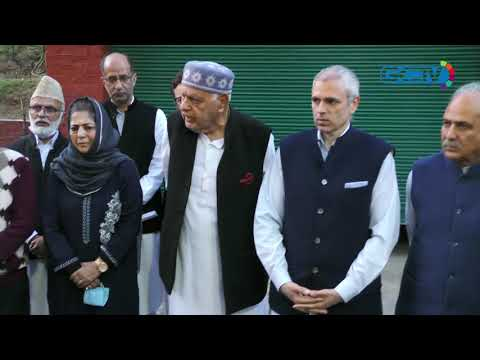 Will fight for restoration of August 4 position, says Farooq Abdullah after all party meet