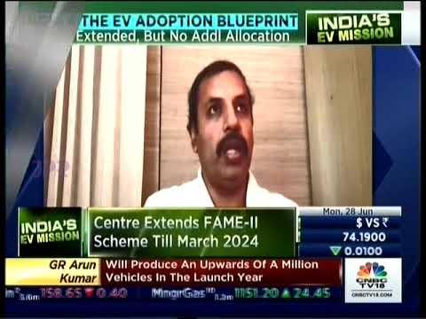Mr. Sandeep Bangia, Head, EV Charging, Tata Power on CNBC TV18 program India's EV Mission