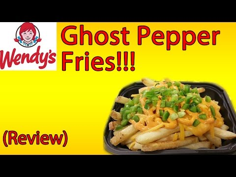 Wendy's Ghost Pepper Fries ♦ The Fast Food Review
