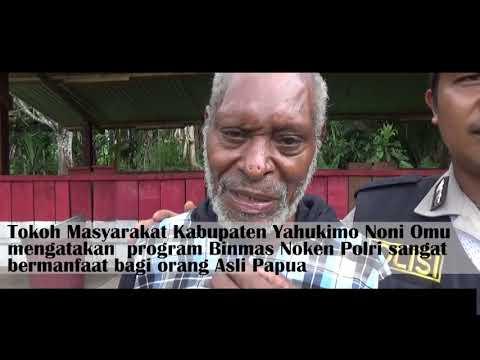 Binmas Noken Tinjau Bersama Spot Peternakan Babi di Yahukimo